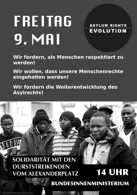 9.5.2014 Innenministerium, Berlin 14 Uhr: Kundgebung