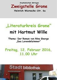 Literaturkreis Grone